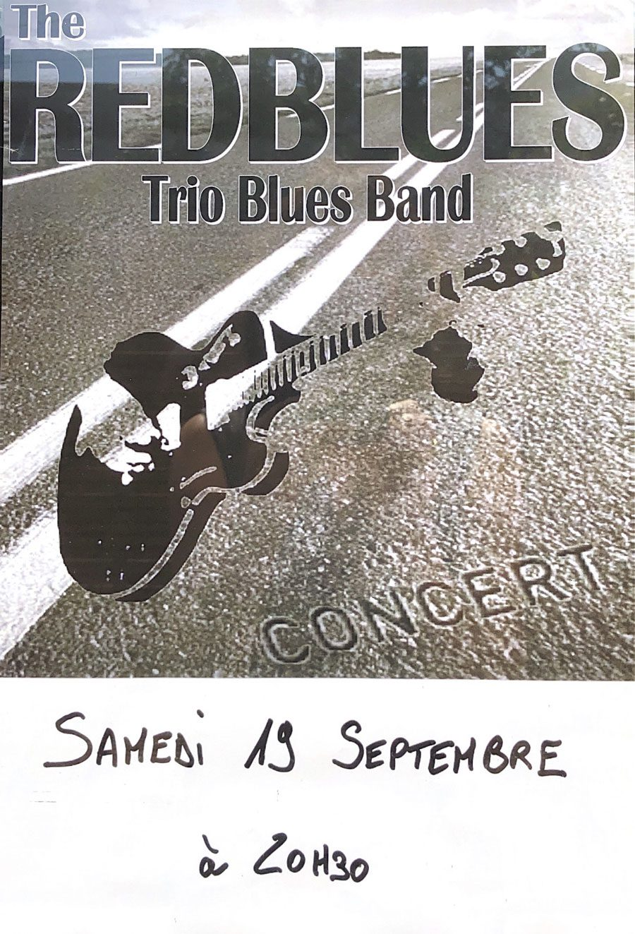 LES RED BLUES – Samedi 19 septembre